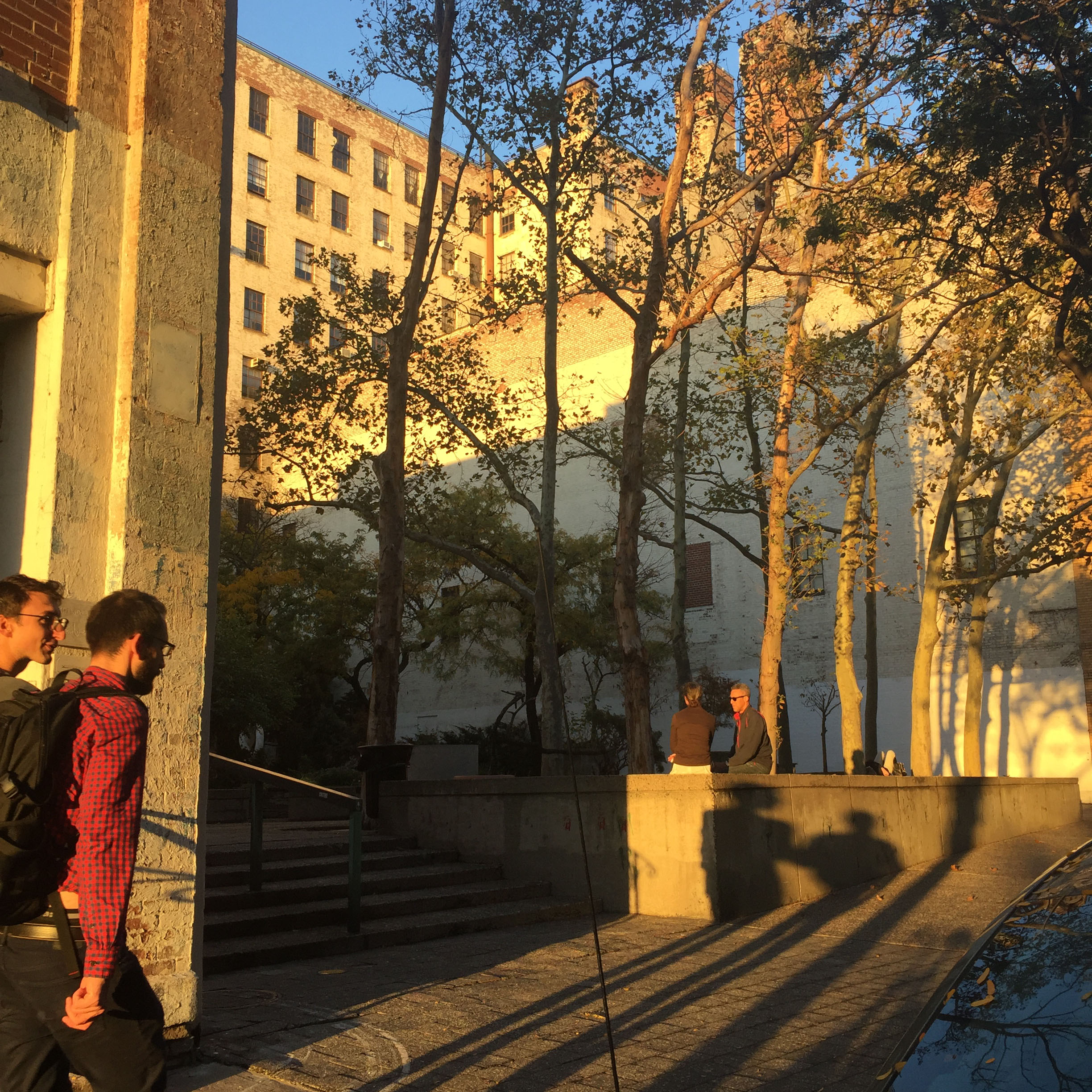 Golden Hour at Westbeth