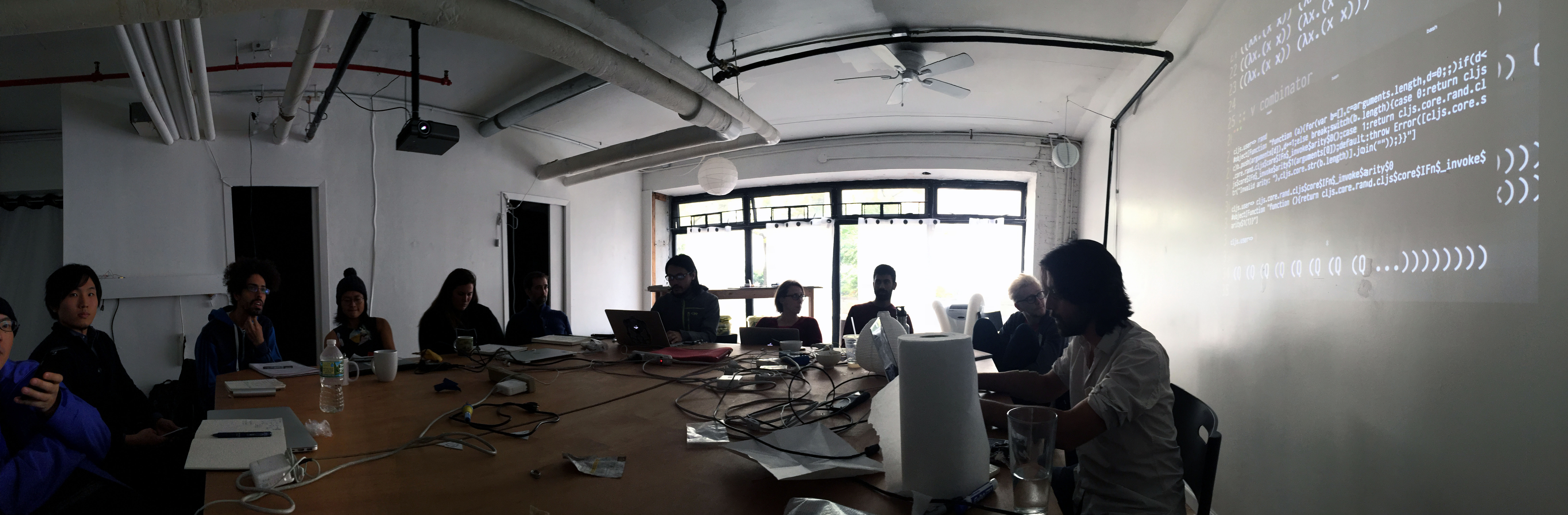 Pano of class